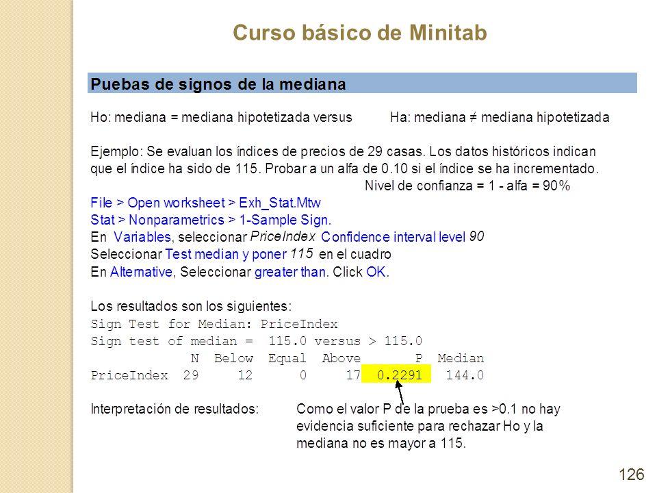 Curso básico de Minitab 126
