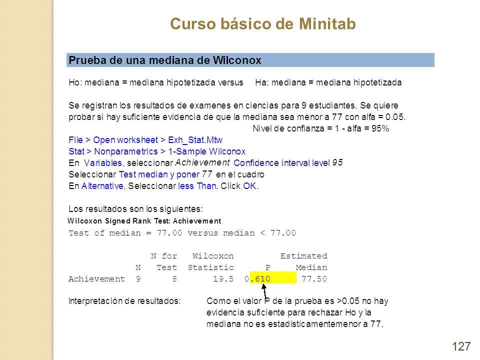 Curso básico de Minitab 127
