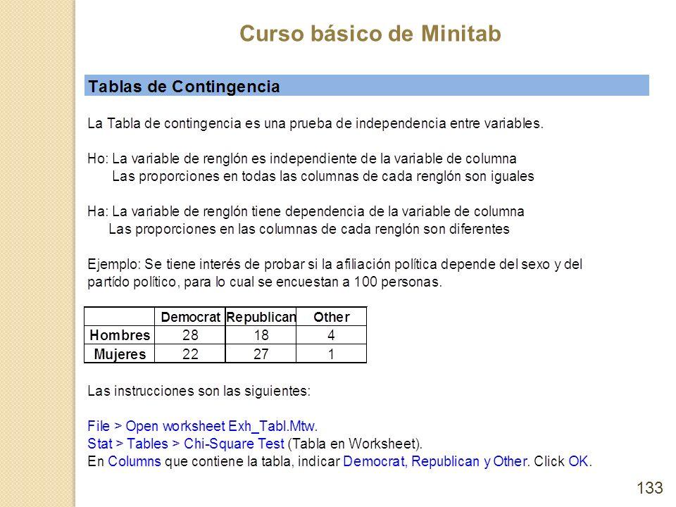 Curso básico de Minitab 133