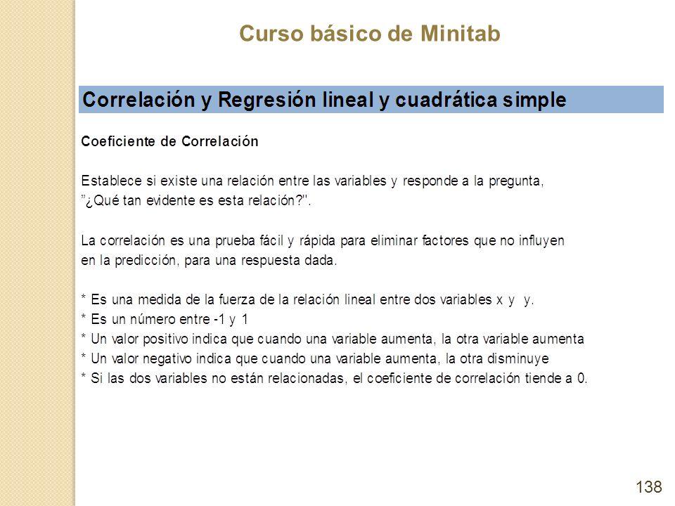 Curso básico de Minitab 138