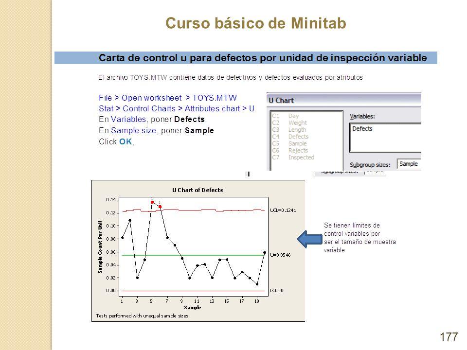 Curso básico de Minitab 177