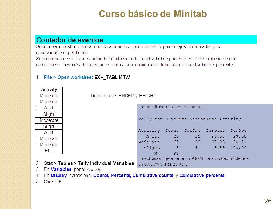 Curso básico de Minitab 26