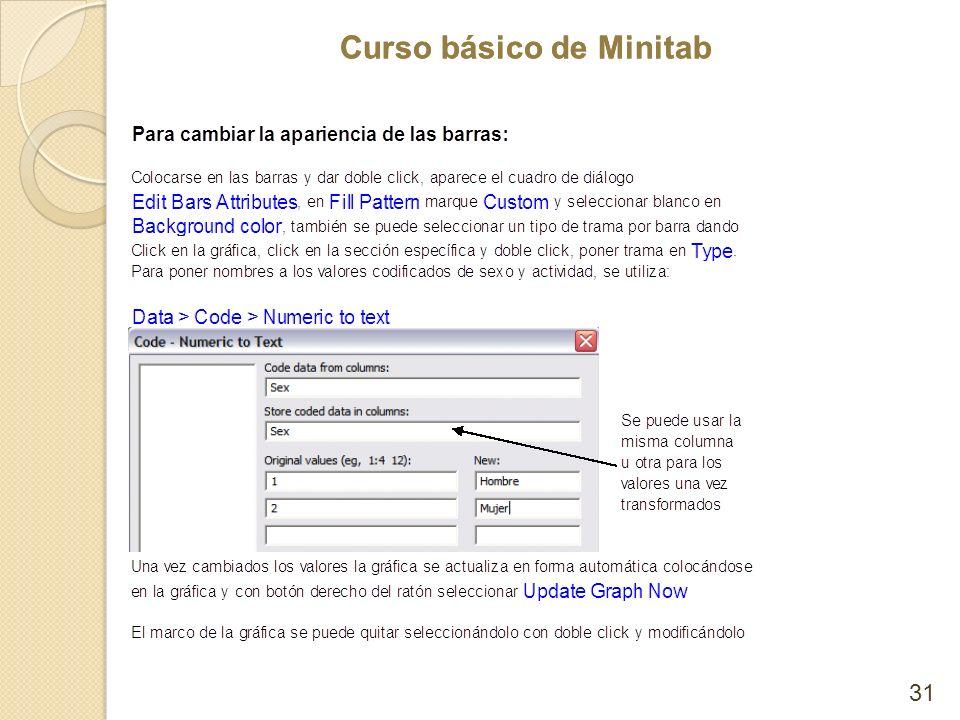 Curso básico de Minitab 31