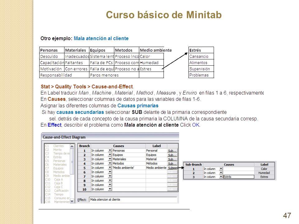 Curso básico de Minitab 47