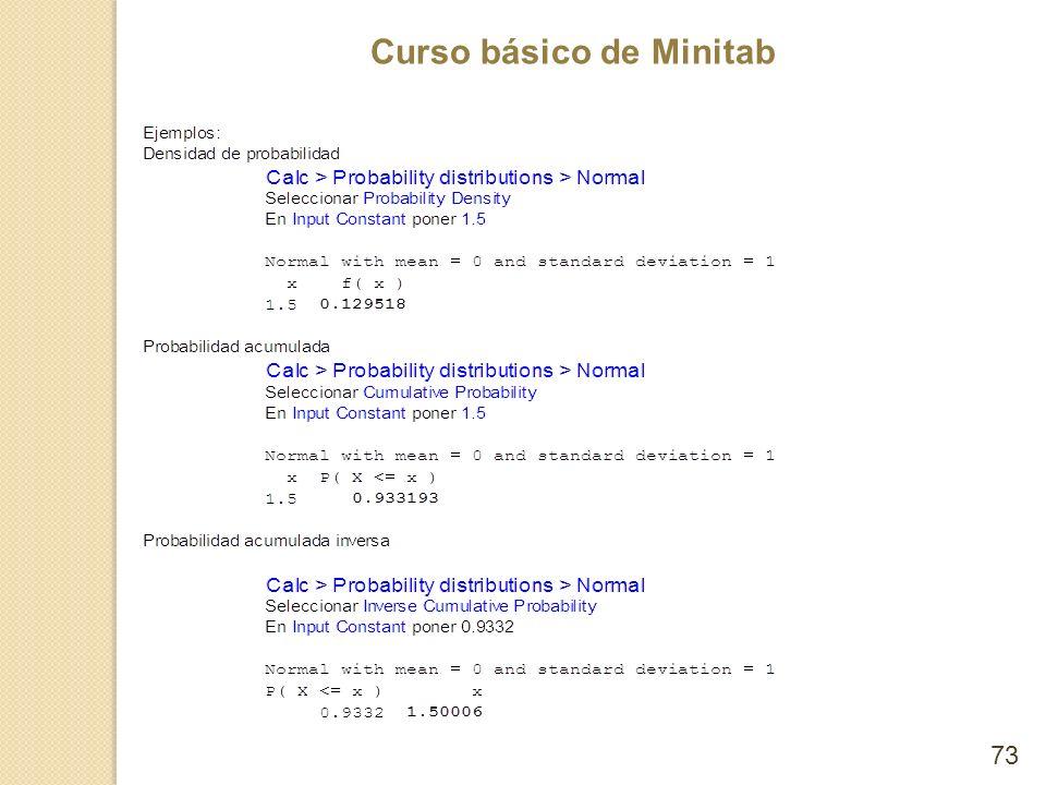 Curso básico de Minitab 73