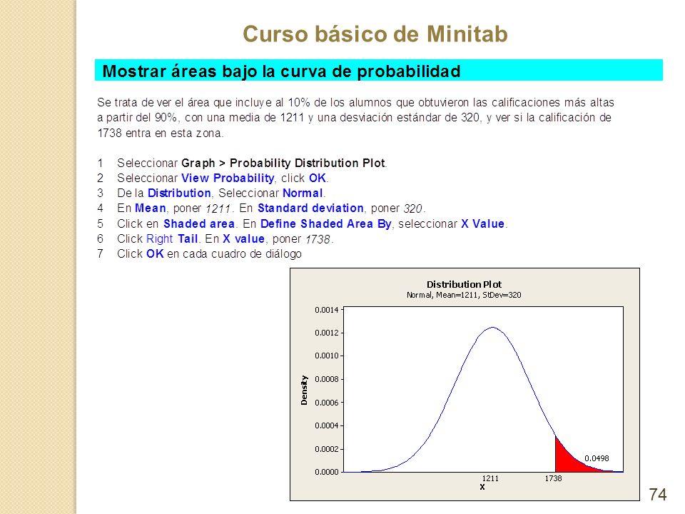 Curso básico de Minitab 74