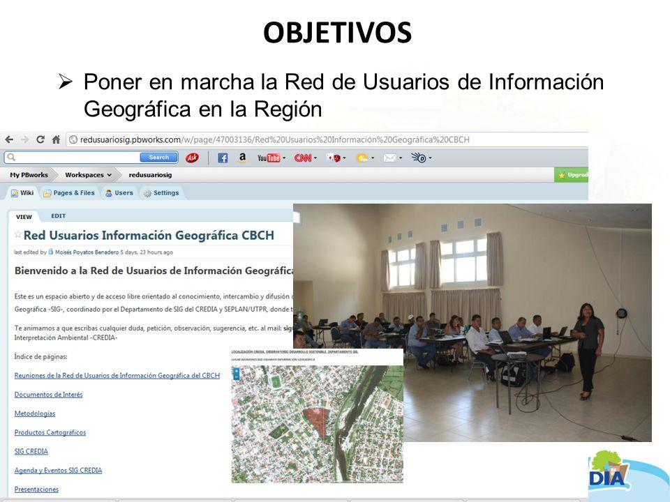 AVANCES Capacitación en el manejo de información geográfica Se ha desarrollado cursos básicos y se ha implementado la capacitación in situ (Software Libre GVSIG – www.gvsig.org).www.gvsig.org