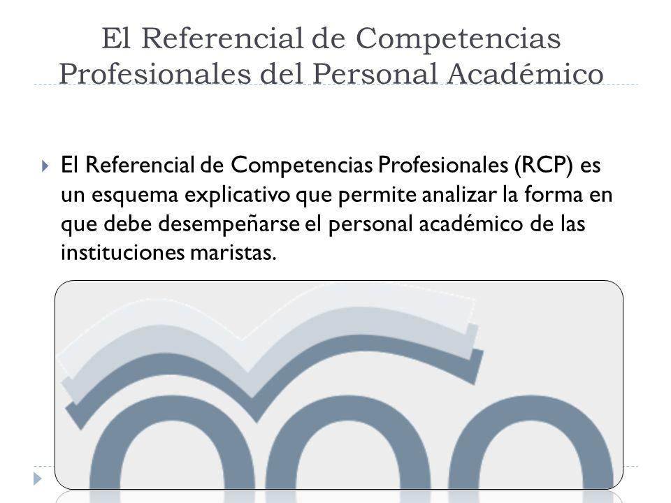 El Referencial de Competencias Profesionales del Personal Académico El Referencial de Competencias Profesionales (RCP) es un esquema explicativo que p