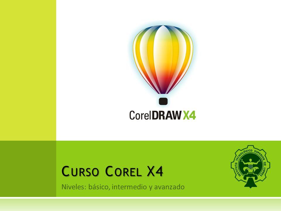 Niveles: básico, intermedio y avanzado C URSO C OREL X4