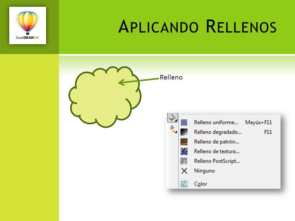 A PLICANDO R ELLENOS Relleno