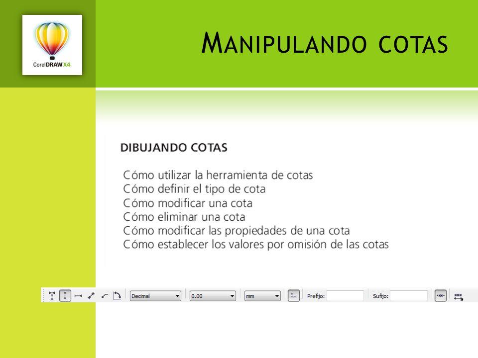 M ANIPULANDO COTAS