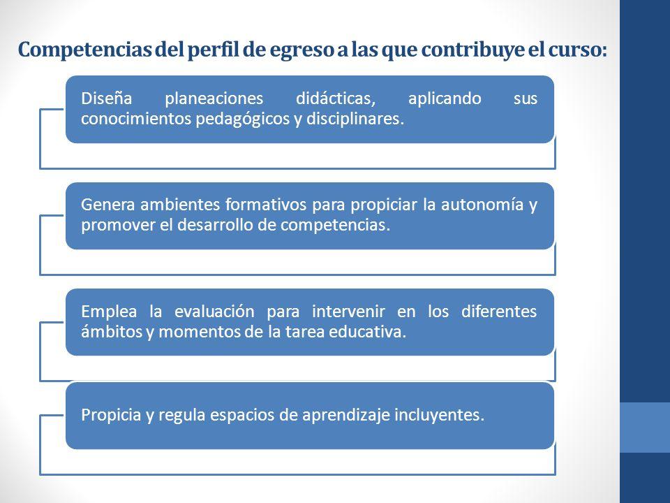 COMPETENCIAS DEL CURSO