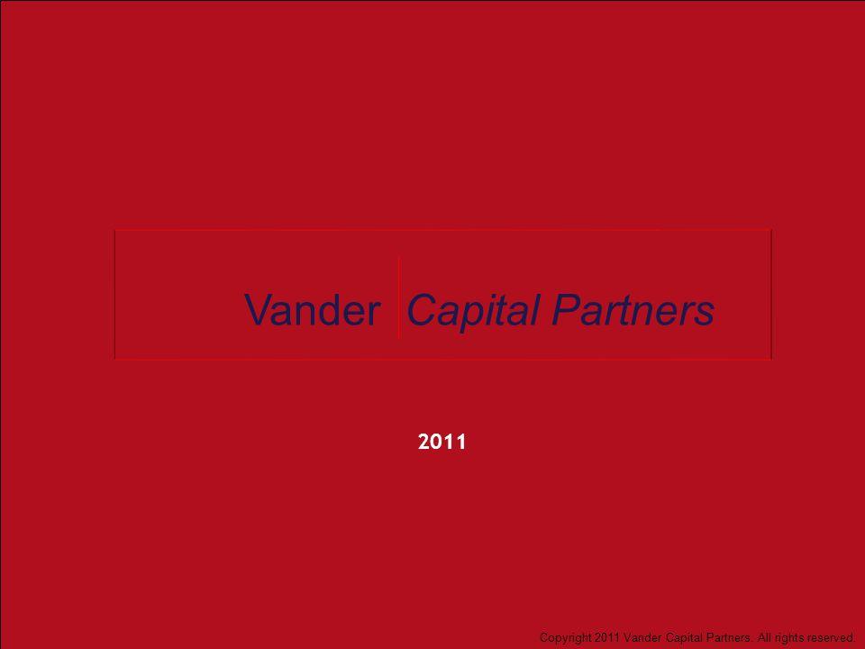 Vander Capital Partners 12 Fuenrte: AMB Report: Lending in Mexico February 2011; Base de datos ahorro y financiamiento CNBV, diciembre 2010; Endeavor Mexico; análisis Vander Capital Partners.
