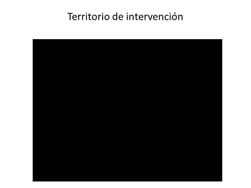 Territorio de intervención