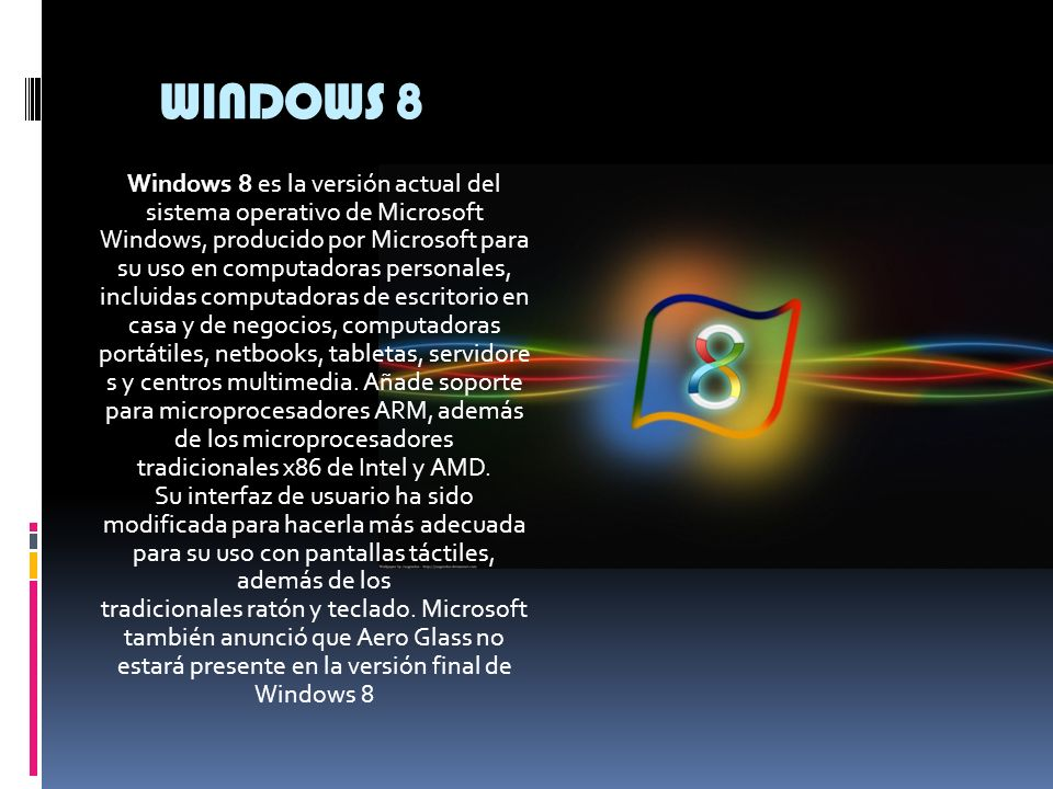 WINDOWS 7 Windows 7 es una versión de Microsoft Windows, línea de sistemas operativos producida por Microsoft Corporation.