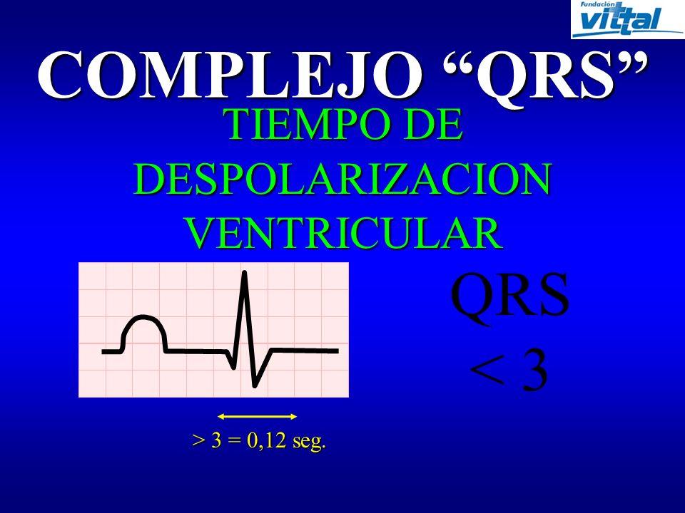 INTERVALO P-R TIEMPO EN LA AURICULA Y ESPERA EN EL NODULO A-V P-R >3 y <5 > 3 = 0,12 seg. < 5 = 0,20 seg.