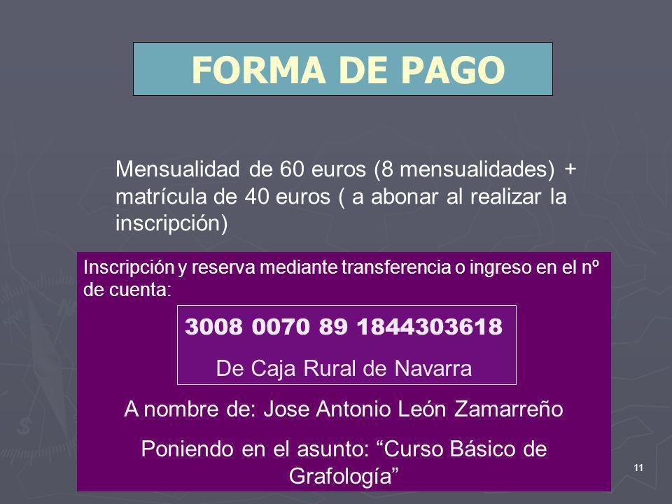 10 LUGAR DONDE SE IMPARTE EL CURSO Hotel Avenida Avenida Zaragoza nº5 Pamplona Información e inscripciones GRAFOPEC Teléfono: 948 181346 joseantoniole