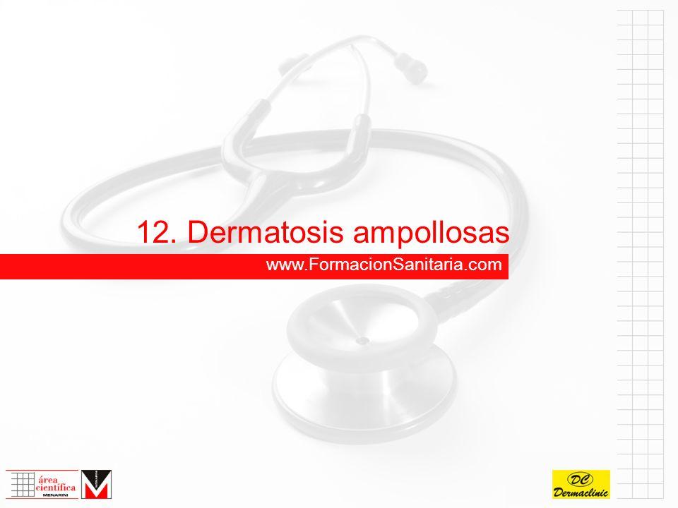 12. Dermatosis ampollosas www.FormacionSanitaria.com