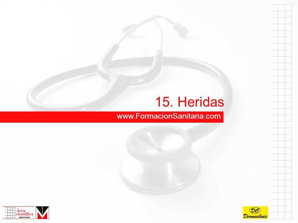 15. Heridas www.FormacionSanitaria.com