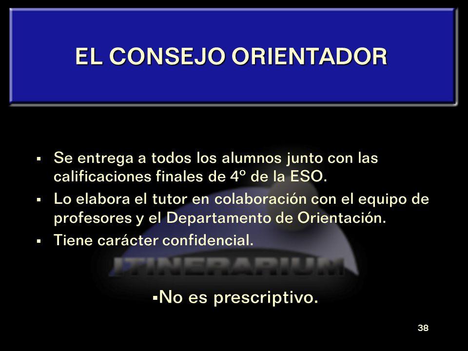 37 El CONSEJO ORIENTADOR