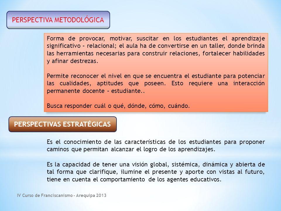 IV Curso de Franciscanismo - Arequipa 2013 Pensamiento sistémico Actitud del ser humano que percibe el mundo real y total para analizar, comprender y actuar.