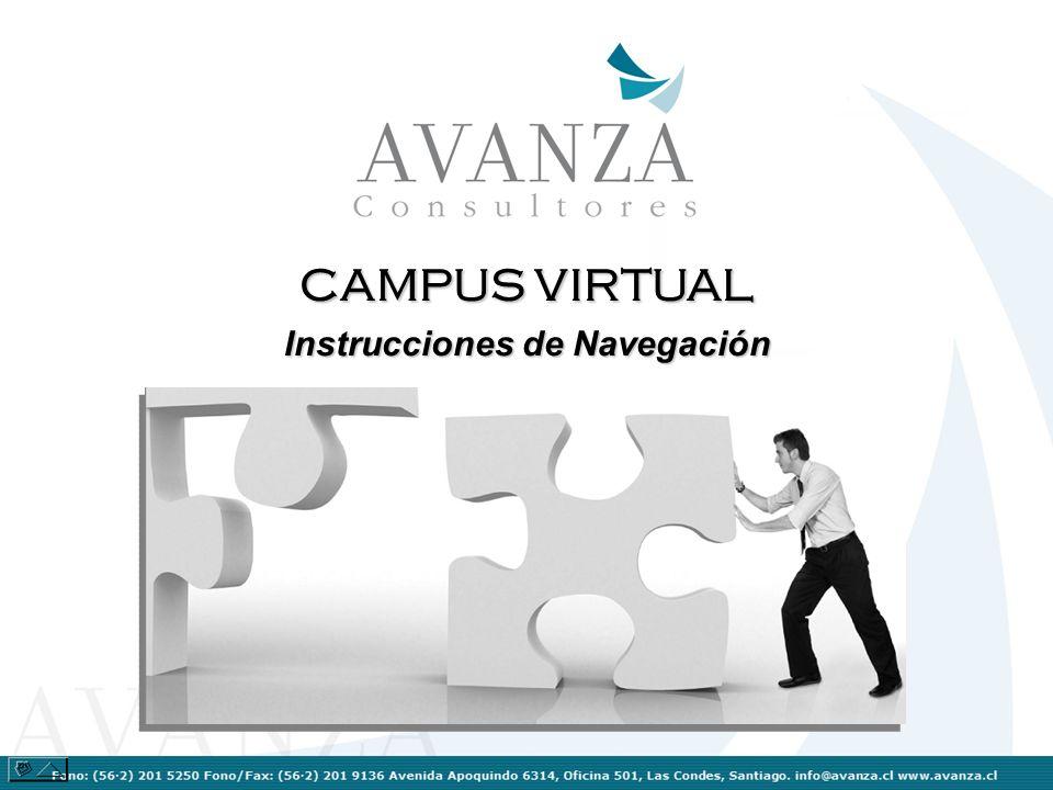 Autentificación de Usuario Para ingresar a sus cursos debe autentificarse como usuario ingresando su Nombre de Usuario y su Contraseña.