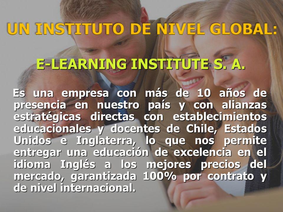 E-LEARNING INSTITUTE S.A. E-LEARNING INSTITUTE S.