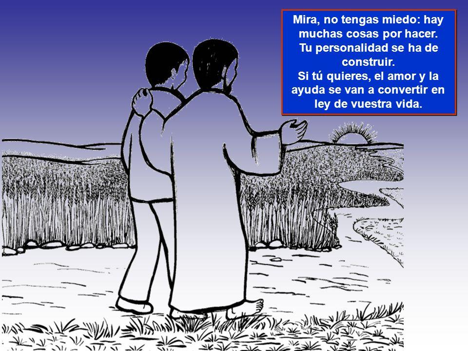 Oración del día de acogida Jesús nos dijo que nos amásemos y ayudásemos los unos a los otros.