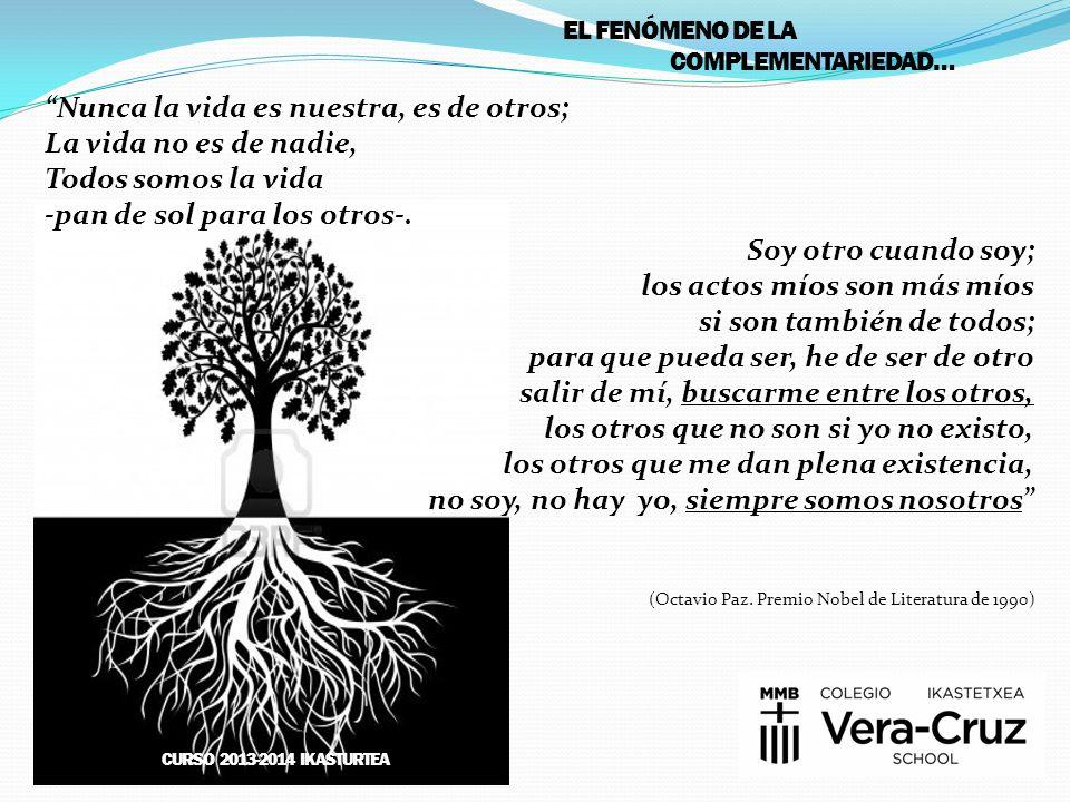La imagen-marco de este año expresa con el árbol con formas humanas, la inclusión de todos en un mismo Ser y en un mismo mundo. A la vez, simboliza la