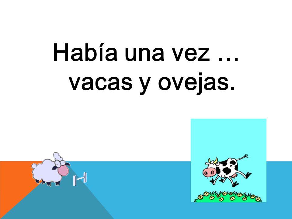 un día se metió la vaca dentro de un rebaño de puras ovejas, y pastaba con ellos a diario.