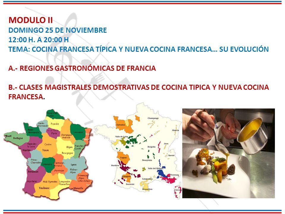 MODULO II DOMINGO 25 DE NOVIEMBRE 12:00 H.