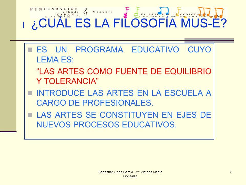 Sebastián Soria García -Mª Victoria Martín González 38 CONCLUSIONES 28 de junio de 2.004.(VI) 2.- Se comentan las programaciones realizadas y el formato para realizar las próximas en el curso 2004-2005.