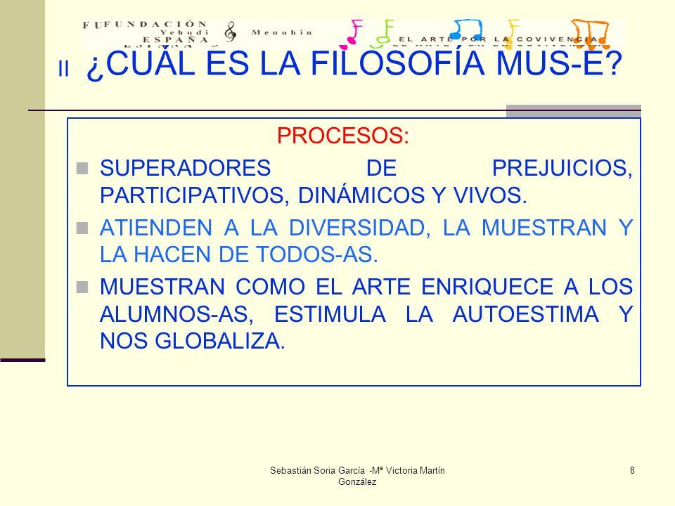 Sebastián Soria García -Mª Victoria Martín González 39 CONCLUSIONES 28 de junio de 2.004.(VII) Con respecto al modelo de programación se realizan las siguientes observaciones: En el apartado evaluación se acuerda realizar una valoración inicial en la reunión de coordinación del día 4 de octubre.