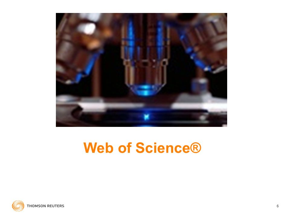 6 Web of Science®