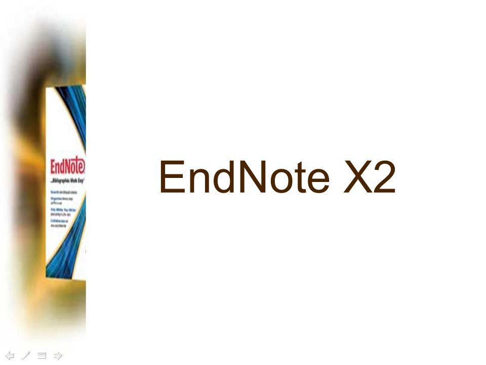 EndNote X2