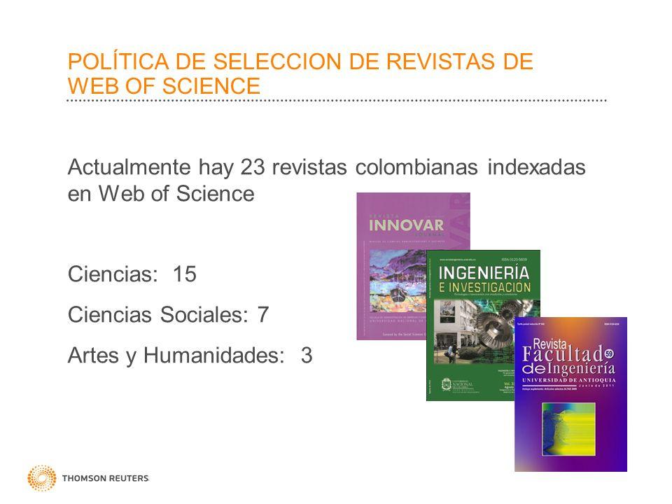 4 Revistas Indexadas en Web of Science
