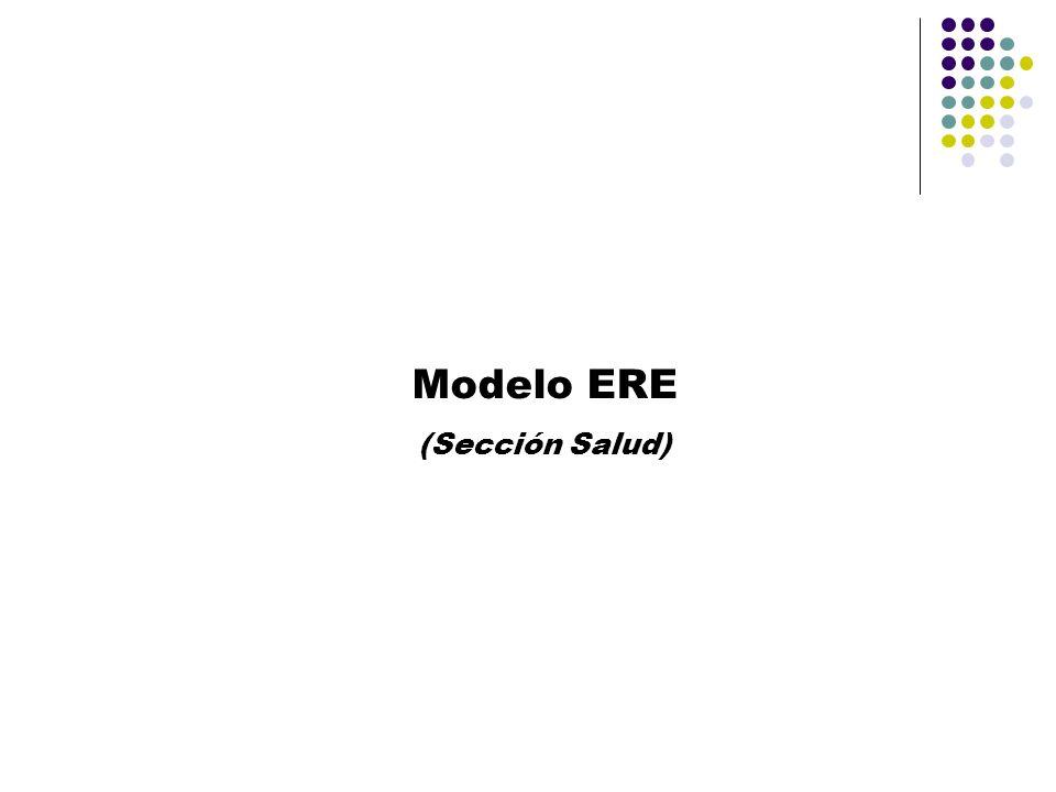 Modelo ERE (Sección Salud)