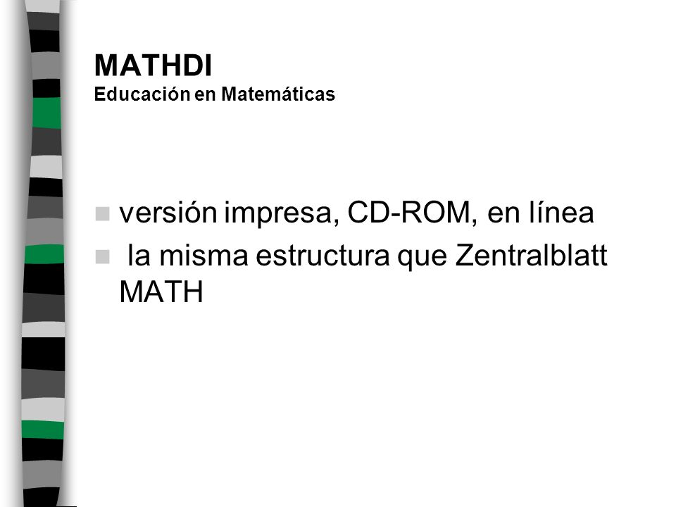 MATHDI Educación en Matemáticas