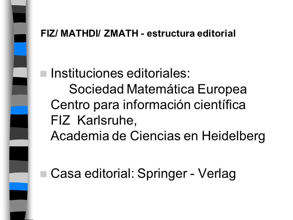 FIZ Karlsruhe Fachinformationszentrum Karlsruhe es una fundación alemana sin ánimo de lucro creada para proporcionar servicios de información para la I+D académica e industrial