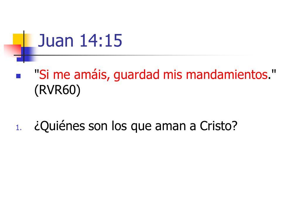 Juan 14:15