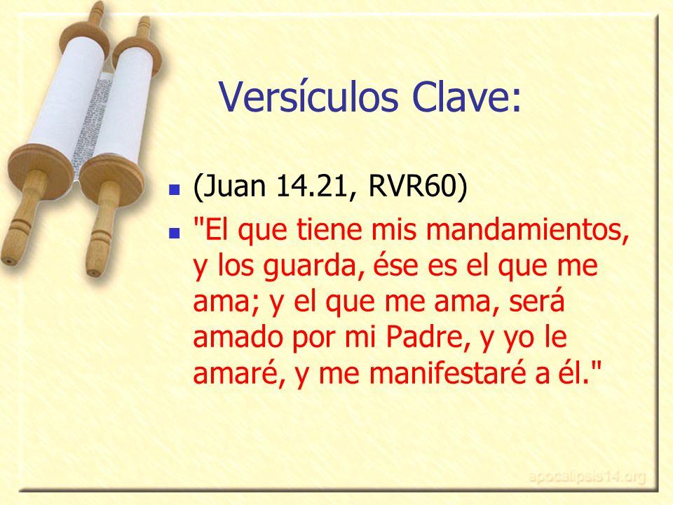 3 Iglesia Bíblica Bautista www.iglesiabiblicabautista.org Versículos Clave: (Juan 14.21, RVR60)