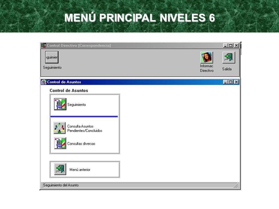 MENÚ PRINCIPAL NIVELES 6