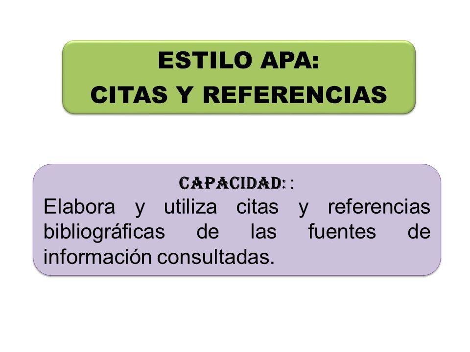Referencia bibliográfica : APA Bandantes, J.(2002).