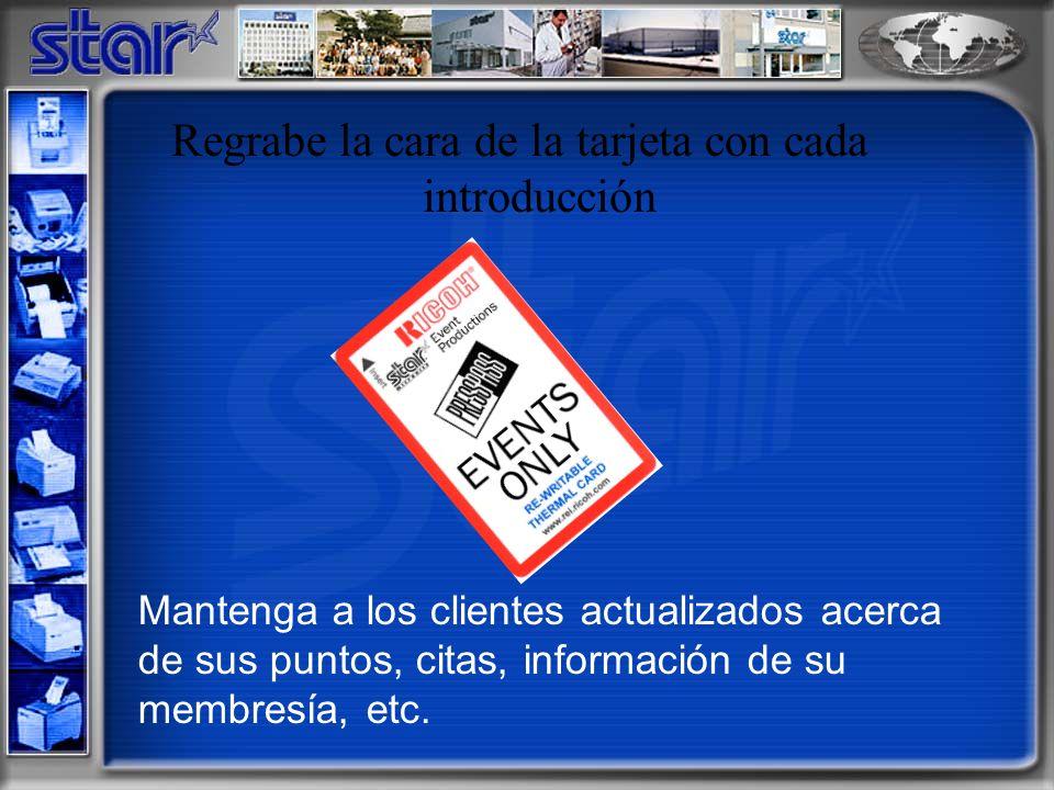 Codifique datos de los clientes en banda magnética John Q. Public 0294815782 01/20/2005 53980
