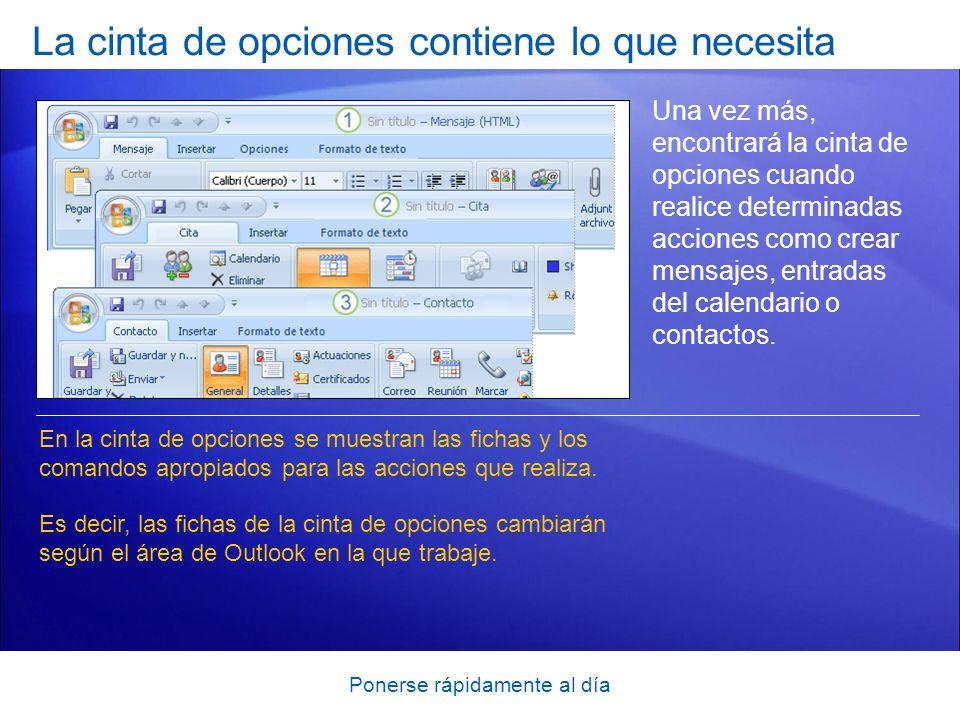 Ponerse rápidamente al día Incluir su firma ¿Utiliza una firma de correo electrónico personal al final de los mensajes de Outlook.