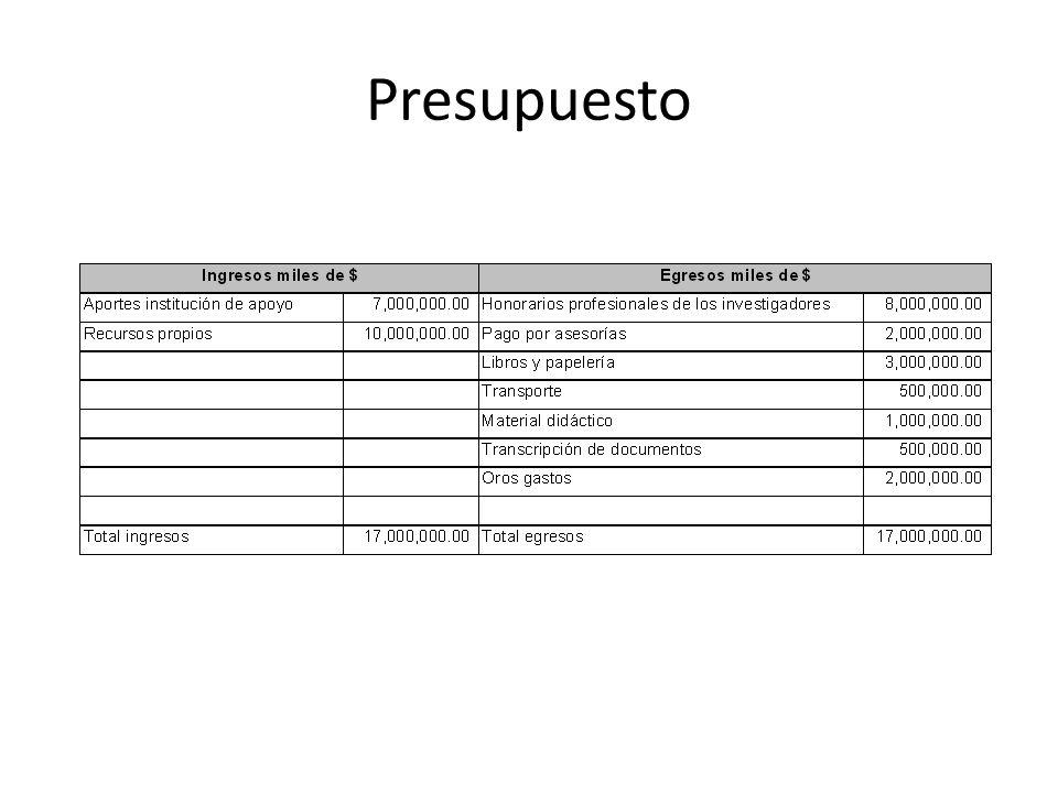Presupuesto