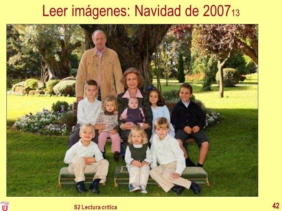 S2 Lectura crítica 42 Leer imágenes: Navidad de 2007 13