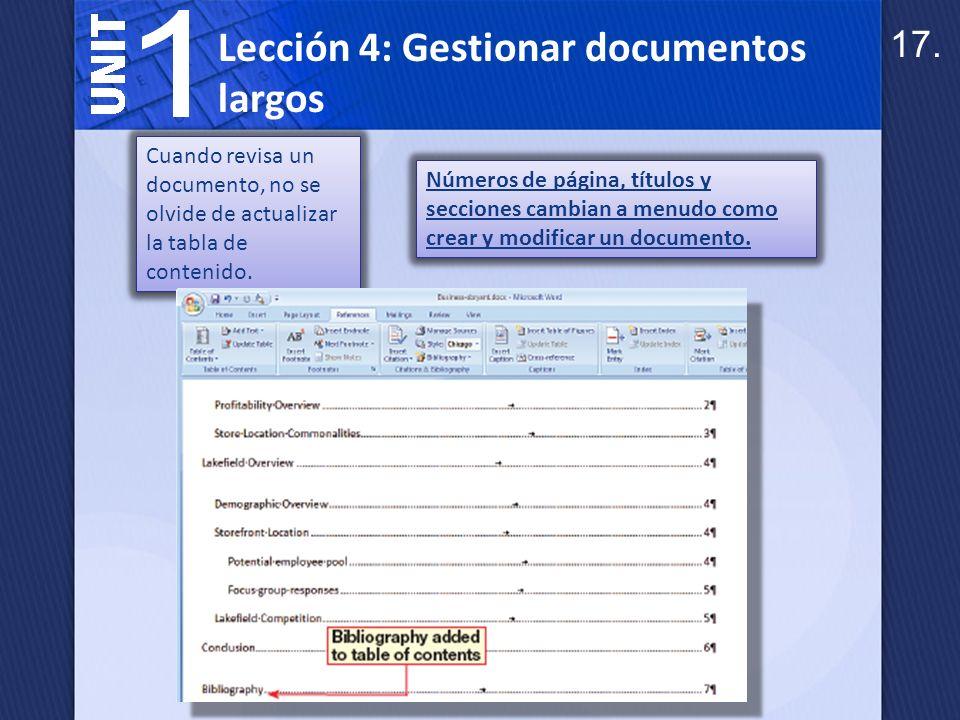 Una ventana dividida es útil cuando necesita comparar diferentes partes de un documento.