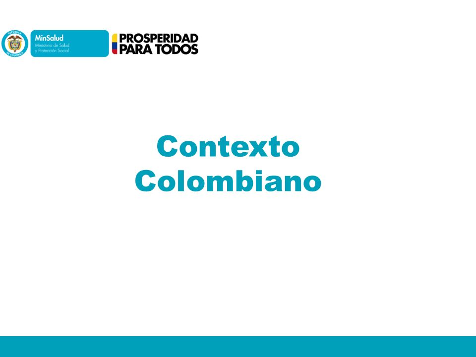 Contexto Colombiano