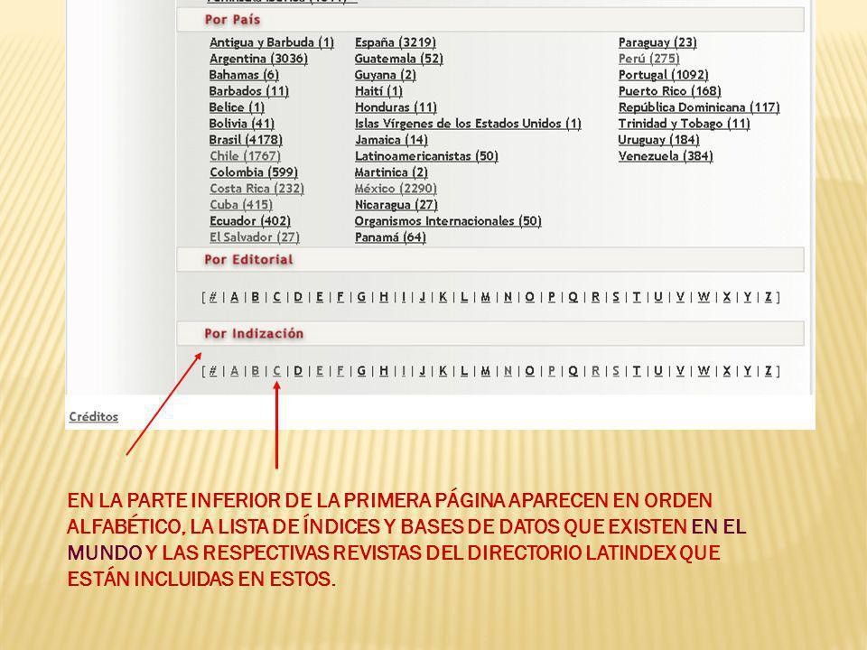 Sistemas nacionales de evaluación: México, Colombia, Argentina, Chile, UCRIndex SCImago Journal Rank (SJR) Indicator SCImago Journal Rank (SJR) Factor de Impacto Ponderado por Especialidad Factor de Impacto de Hirsch: Google Citations